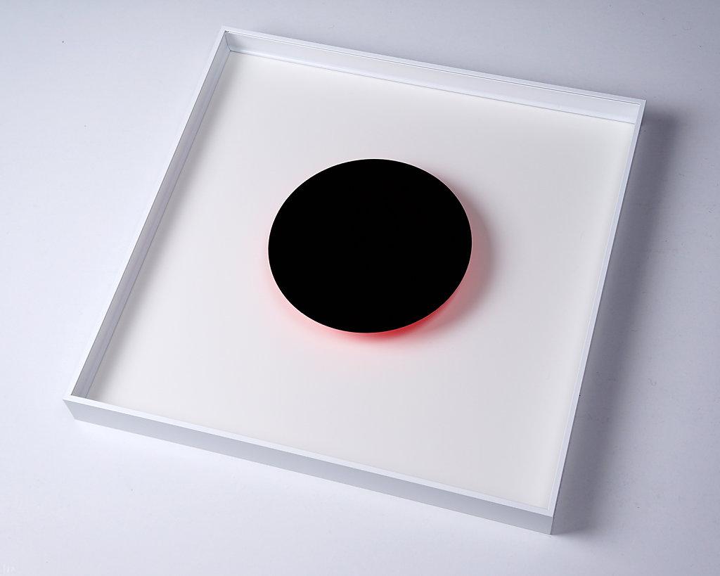Even the moon borrows it's light... – Black/Magenta