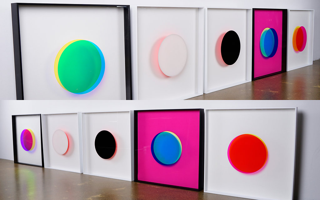 Man Made Object Series & Even the moon borrows it's light from the sun – selected works from the two series