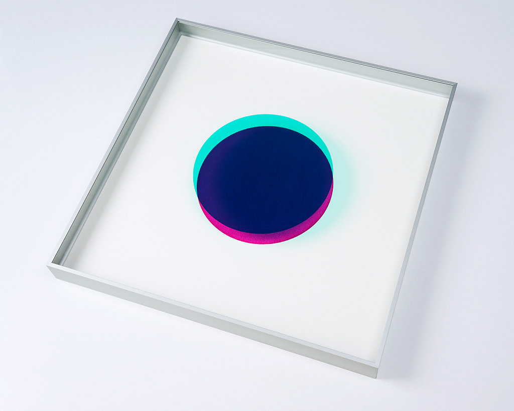 Man Made Object Series – Turquoise/Magenta